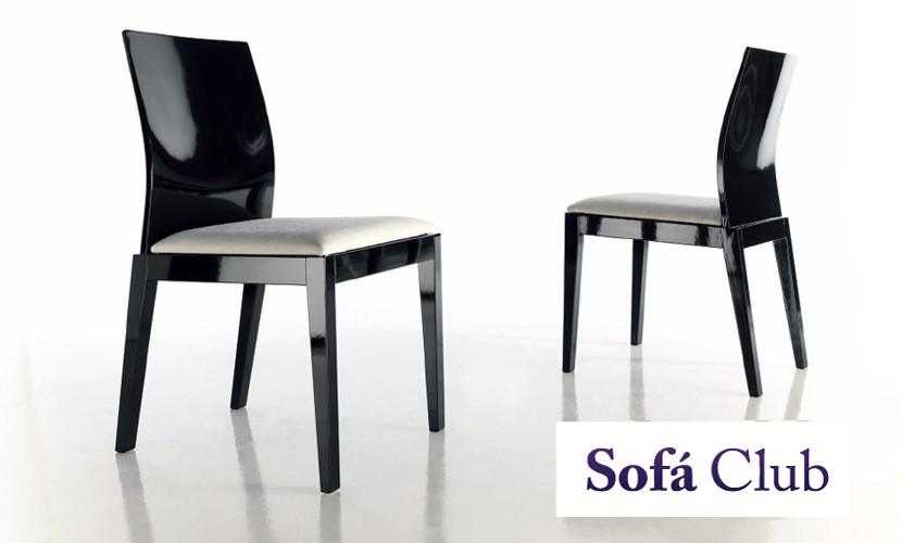 Silla de comedor de elegante factura ref l24000 for Sillas comedor elegantes