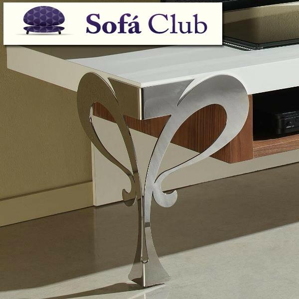 Mesa de televisi n con patas en forja - Patas de forja para mesas ...