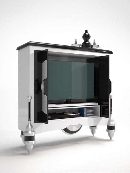 Mueble de televisi n de dise o for Muebles de diseno moderno para tv