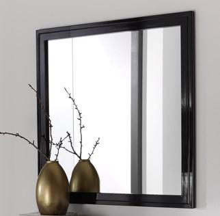 Espejo cuadrado lacado ref l88000 for Espejos cuadrados