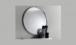Conjunto recibidor en acero inoxidable ref l101000 for Conjunto espejos redondos