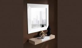 Conjunto recibidor con consola y espejo ref l109000 for Conjunto espejos redondos