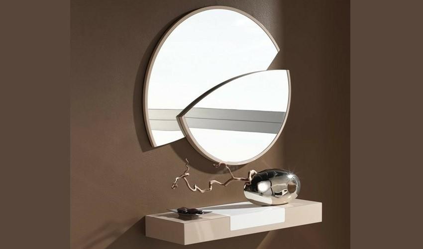 Conjunto recibidor con consola y espejo car interior design for Espejos de diseno para recibidor