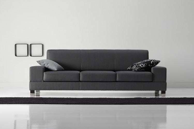 Rinconera de dise o sof chaise long de piel italiana mod for Sofa rinconera de piel