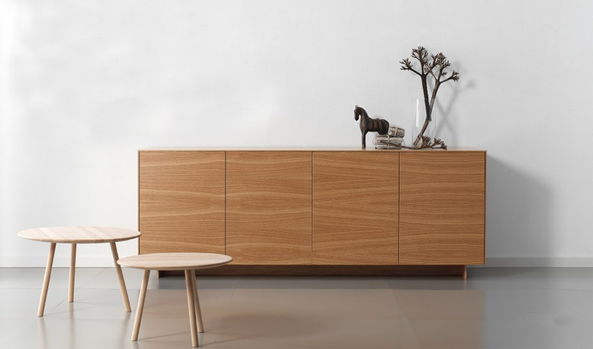 Mueble aparador de dise o fabricado en roble for Muebles contemporaneos de diseno