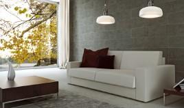 D51000 Sofá Cama de Diseño con sistema de apertura Italiano