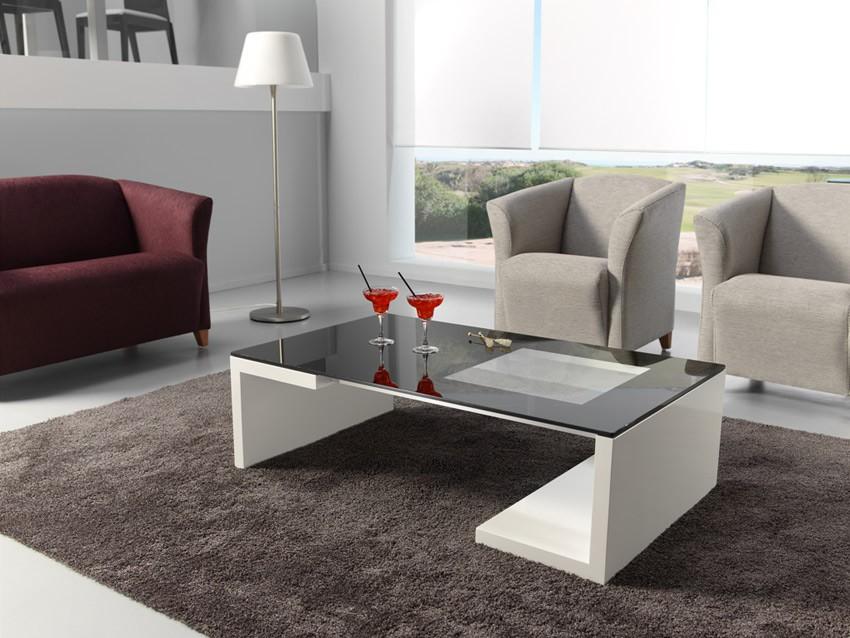 Mesa de centro moderna de dise o - Fotos de mesas de centro ...