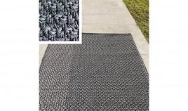 Alfombra fabricada a Mano en material Acrílico, confeccionada en la India Ref C138000