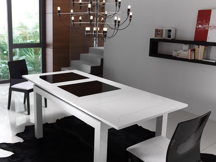 Mesa de comedor de dise o extensible - Como hacer una mesa de comedor ...
