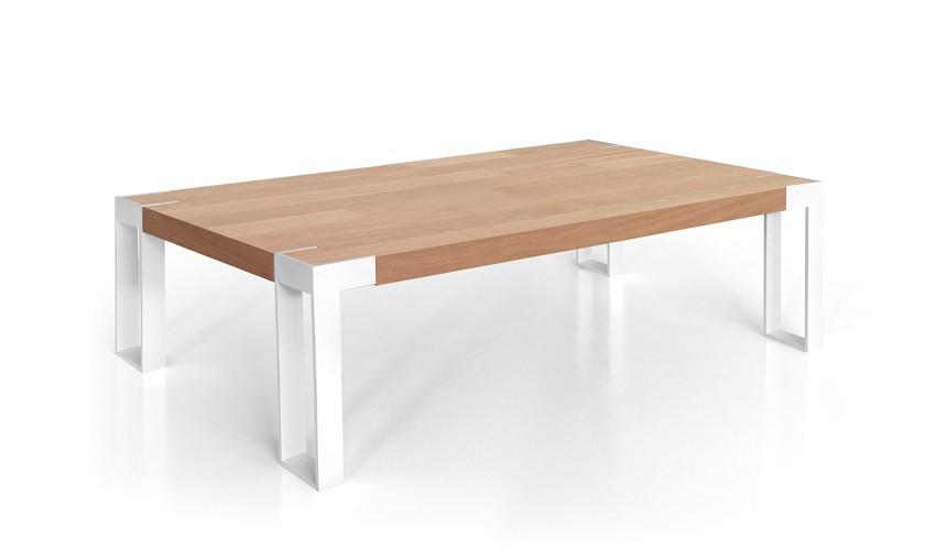 Mesa de Centro con acabado lacado o en chapa natural Ref L168000
