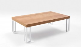 Mesa de Centro con acabado lacado o en chapa natural Ref L169000