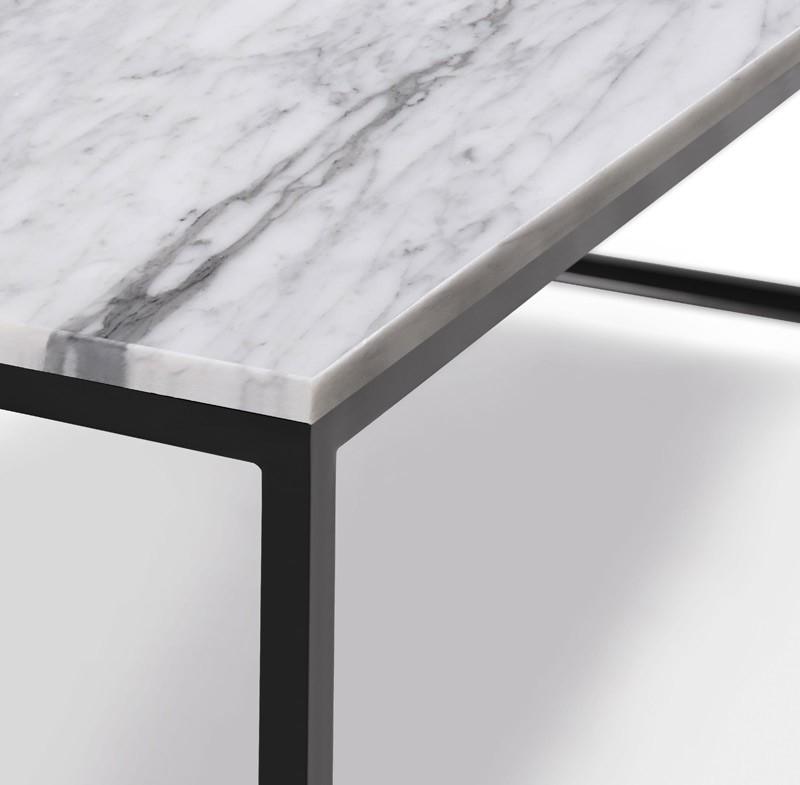 Patas Metalicas Para Muebles : Mesa de centro con tapa en marmol y patas metálicas