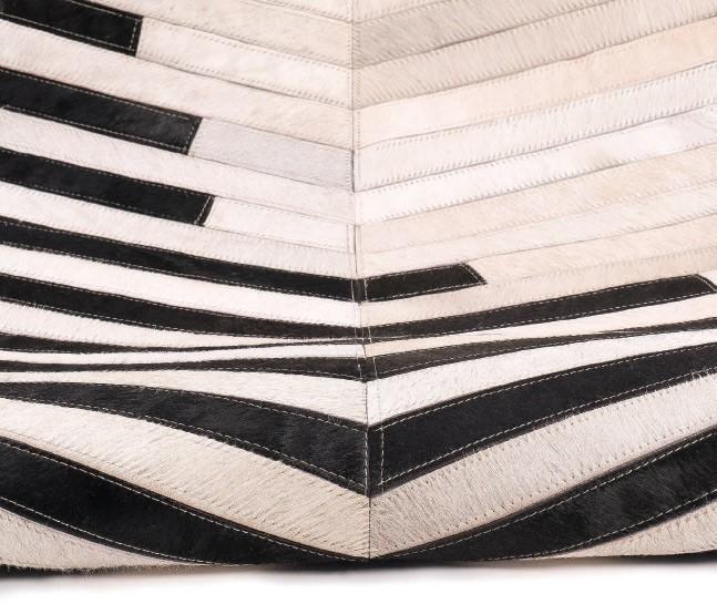 Alfombra de Piel fabricada a Mano en la India Ref C134000