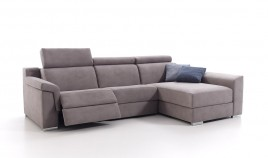 A10200 Sofá Relax con Chaiselongue, disponible tambien En 4, 3, 2 y 1 Plazas