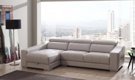 A26000 Sofá Chaiselongue con opción Rinconera disponible en 4, 3, 2 y 1 plazas