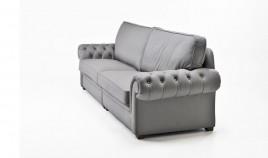 PT19000 Sofá clásico acabado capitoné disponible en 4, 3, 2 y 1 Plazas
