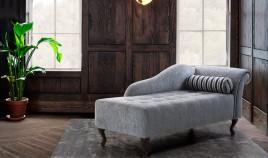 PT39000 Divan Clásico con patas en madera de haya