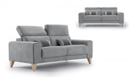 MT10100 Sofá moderno disponible en 3, 2 y 1 Plazas y con opción chaiselongue