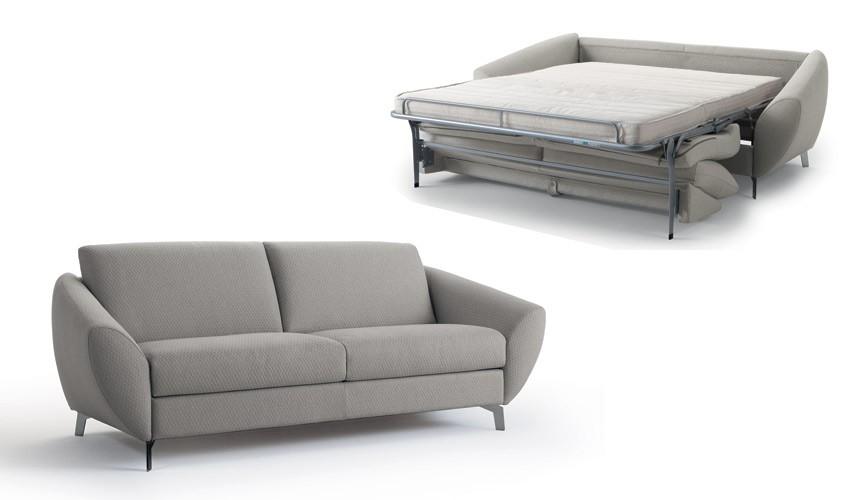 MT11100 Sofá cama moderno con apertura Italiana disponible en 4 y 3 Plazas