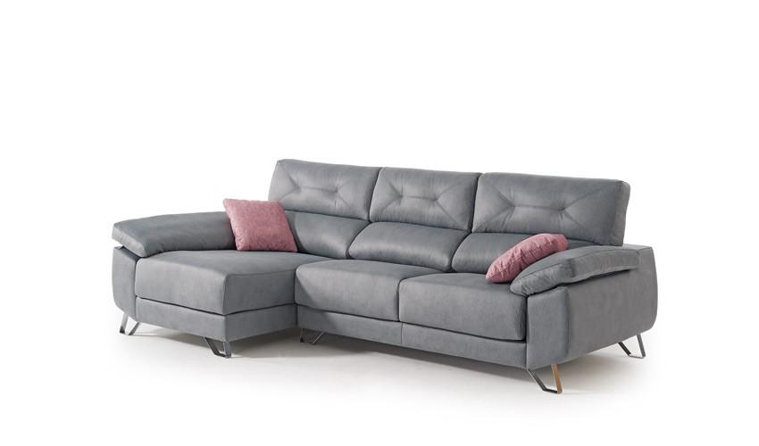 MT13000 Sofá chaiselongue con arcón disponible tambien con rinconera y en 4, 3, 2 y 1 Plazas
