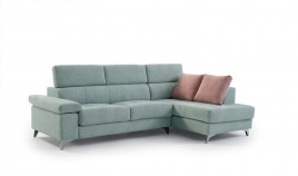 MT14000 Sofá chaiselongue disponible tambien con rinconera y en 4, 3, 2 y 1 Plazas