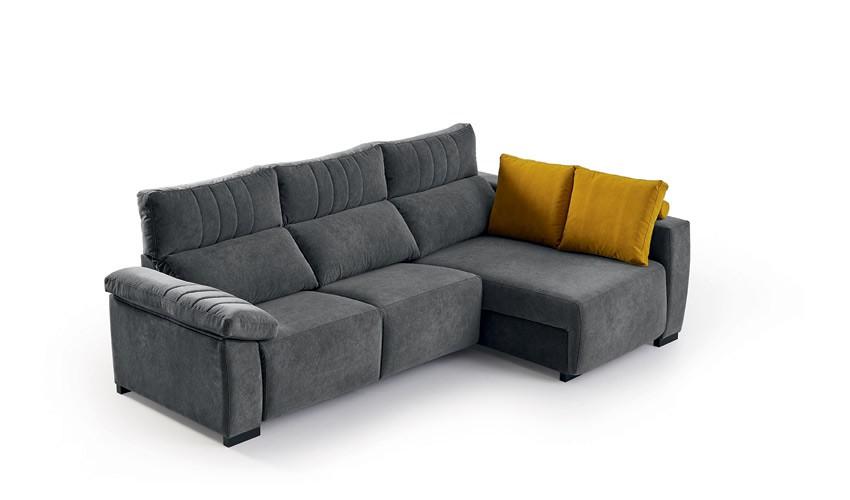 MT15000 Sofá chaiselongue con arcón disponible tambien en 4, 3, 2 y 1 Plazas