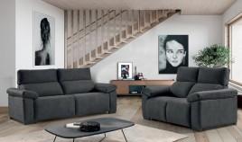 MT15100 Sofa moderno en 4, 3, 2 y 1 Plazas disponible tambien con chaiselongue con arcón