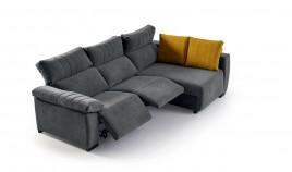 MT15200 Sofá Reláx motorizado con chaiselongue con arcón disponible tambien en 4, 3, 2 y 1 Plazas
