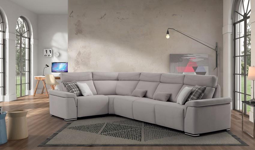 MT16100 Sofá rinconera disponible en chaiselongue con arcón y en 4, 3, 2 y 1 Plazas
