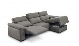 MT17200 Sofá Reláx motorizado chaiselongue con arcón disponible tambien en 4, 3, 2 y 1 Plazas