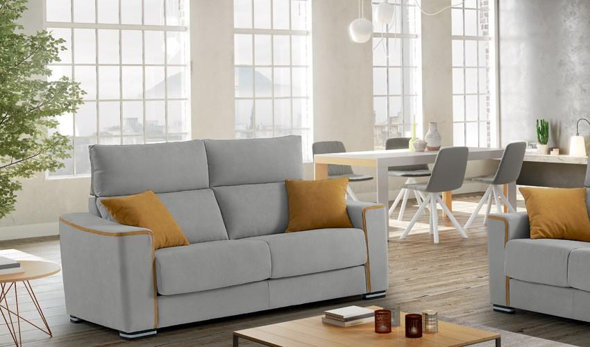 MT20100 Sofá en 4, 3, 2 y 1 Plazas con opción chaiselongue con arcón