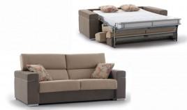 MT24200 Sofá cama en 4 y 3 Plazas disponible tambien en chaiselongue con arcón