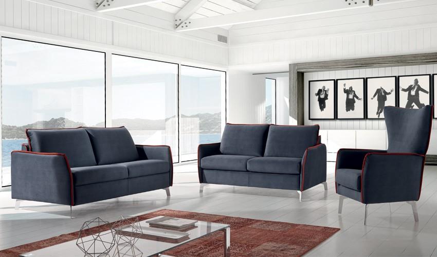MT26100 Sofá en 3, 2 y 1 Plazas disponible tambien con opción chaiselongue