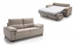 MT37000 Sofá Cama de apertura Italiana disponible en 3 y 2 Plazas