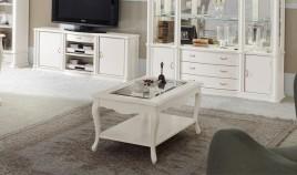 Mesa de Centro Clásica con opción tapa madera Ref H10047