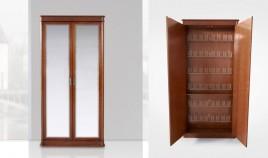 Zapatero 2 puertas con espejo Ref H10059