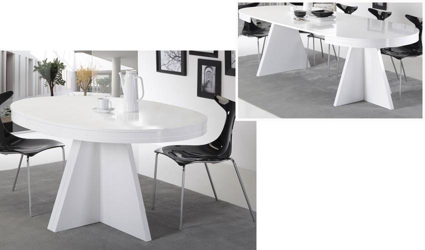 Mesa de Comedor ovalada extensible Ref H10094