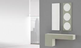 Conjunto recibidor de consola y espejos Ref H10104