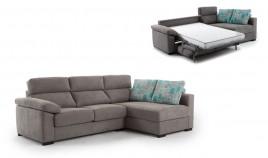 MT25200 Sofá Cama chaiselongue con arcón disponible en 4, 3 y 2 Plazas