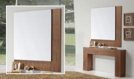 Conjunto recibidor de consola y espejo Ref H10118