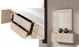 Conjunto recibidor de consola y espejo Ref H10133