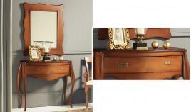 Conjunto recibidor clásico de consola y espejo Ref H10136