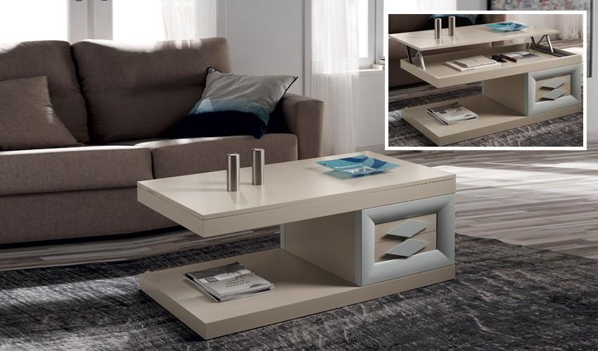 Mesa de Centro de Diseño Elevable Ref H10150