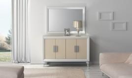 Conjunto Aparador y Espejo de Diseño Ref H10162