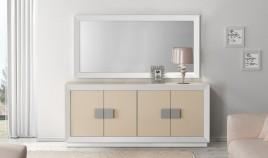 Conjunto Aparador y Espejo de Diseño Ref H10170