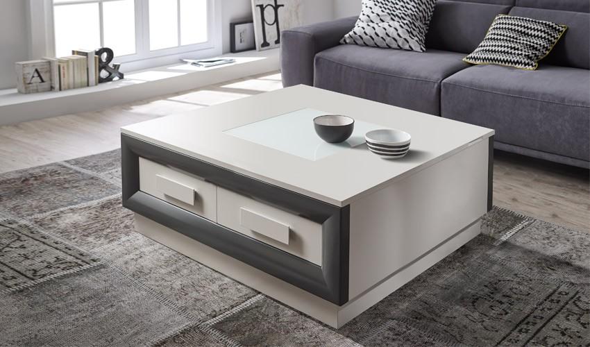 Mesa de Centro de Diseño Elevable cuadrada Ref H10174