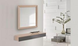 Conjunto recibidor de Diseño con Consola y Espejo Ref H10180