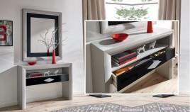 Conjunto recibidor de Diseño con Consola y Espejo Ref H10183