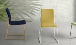 Moderna silla de comedor Tapizada Ref Q16000