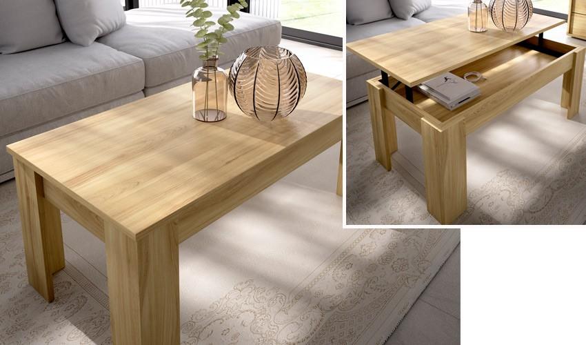 Mesa de Centro elevable con diferentes colores a elegir Ref Y13000